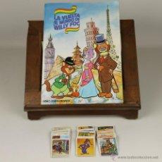 Coleccionismo Álbumes: 6831 - ALBUM DE CROMOS LA VUELTA AL MUNDO DE WILLY FOG. EDIT. MAGA. 1983.. Lote 50440321