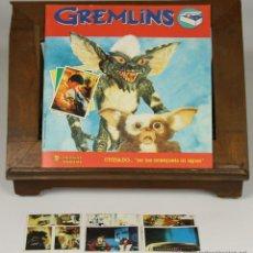 Coleccionismo Álbumes: 6834 - ALBUM DE CROMOS GREMLINS MÁS 7 CROMOS. EDIC. PANINI. 1984.. Lote 104835188