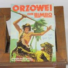 Coleccionismo Álbumes: 6835 - ALBUM DE CROMOS ORZOWEI. EDIT. BRB,MERCHANDISING. 1978.. Lote 50453058