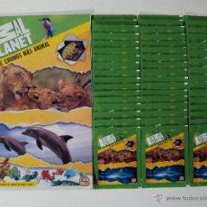 Coleccionismo Álbumes: ÁLBUM Y 50 SOBRES ANIMAL PLANET DE GIROMAX. NO BLISTER. 250 CROMOS. Lote 98814022