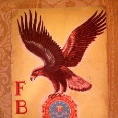 Coleccionismo Álbumes: ALBUM DE CROMOS FBI - AÑOS 50. Lote 55134972