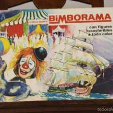 Coleccionismo Álbumes: 7297 - ÁLBUM BIMBORAMA. VARIAS SERIES(VER DESCRIP). EDI. FERRE OLSINA. 1972.. Lote 55166361