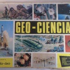 Collectionnisme Albums: ALBUM GEO-CIENCIAS. COLECCIÓN DE SCHEELITA-DACO. INCOMPLETO FALTAN 26. Lote 55242060