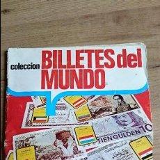 Coleccionismo Álbumes: ALBUM ESTE BILLETES DEL MUNDO. Lote 55287731