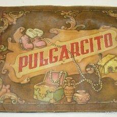 Coleccionismo Álbumes: ALBUM CROMOS PULGARCITO,EDICIÓN LUJO, EDITORIAL J.L. AGUILAR AÑOS 40, FALTAN 4 CROMOS. Lote 55396858