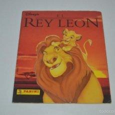 Coleccionismo Álbumes: ALBUM DE CROMOS EL REY LEON COMPLETO PANINI ALBUN CROMO PFS. Lote 55918471