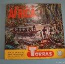 Coleccionismo Álbumes: ALBUM INCOMPLETO DE COSMORAMA DE AFRICA AÑO 1960 DE CHOCOLATES TORRAS. Lote 56040055