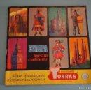 Coleccionismo Álbumes: ALBUM INCOMPLETO DE EUROPA NUESTRO CONTINENTE AÑO 1968 DE CHOCOLATES TORRAS. Lote 56040107