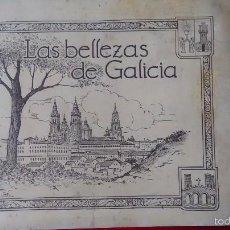 Coleccionismo Álbumes: LAS BELLEZAS DE GALICIA. Lote 56056619