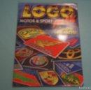 Coleccionismo Álbumes: ALBUM INCOMPLETO DE LOGO MIX MOTOR & SPORT AÑO 1996 DE ESTE. Lote 56068516