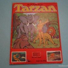 Coleccionismo Álbumes: ALBUM INCOMPLETO DE TARZAN AÑO 1979 DE FHER. Lote 56072632