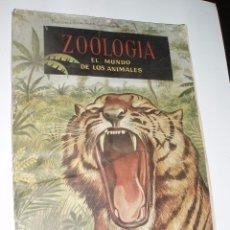 Coleccionismo Álbumes: ALBUM CASI COMPLETO ZOOLOGIA EL MUNDO DE LOS ANIMALES FERCA. Lote 56107187