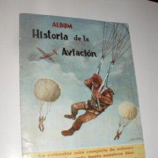 Coleccionismo Álbumes: ALBUM HISTORIA DE LA AVIACION COSTA SOLO FALTA 1 CROMO. Lote 56129114