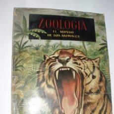 Coleccionismo Álbumes: ALBUM ZOOLOGIA EL MUNDO DE LOS ANIMALES FERCA INCOMPLETO. Lote 56156027