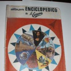 Coleccionismo Álbumes: ALBUM ENCICLOPEDICO DE LA CASERA,FHER,CASI COMPLETO SOLO FALTAN 7 CROMOS. Lote 56196029