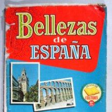 Coleccionismo Álbumes: ALBUM DE CROMOS BELLEZAS DE ESPAÑA , COLECCION CULTURA , SERIE 6 , INCOMPLETO. Lote 56240488