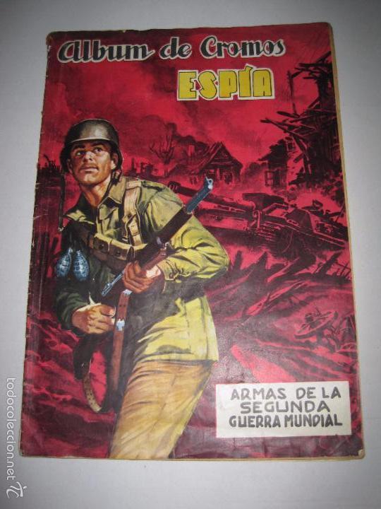 ALBUM ESPIA -ALBUM INCOMPLETO -EDITORIAL MAGA - (V-5255) (Coleccionismo - Cromos y Álbumes - Álbumes Incompletos)