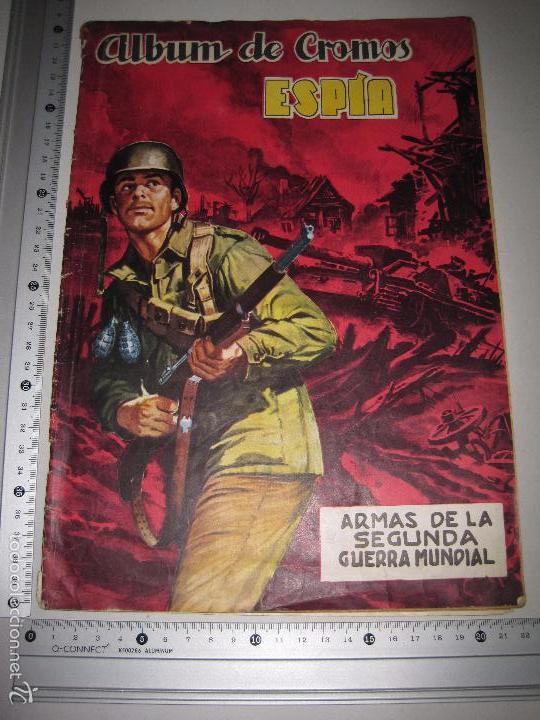 Coleccionismo Álbumes: ALBUM ESPIA -ALBUM INCOMPLETO -EDITORIAL MAGA - (V-5255) - Foto 15 - 56278047