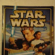 Coleccionismo Álbumes: ALBUM DE CROMOS STAR WARS DE PANINI EL ATAQUE DE LOS CLONES. Lote 56278904