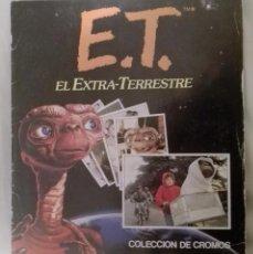 Coleccionismo Álbumes: ALBUM CROMOS ET EL EXTRATERRESTRE -INCOMPLETO FALTAN 14 CROMOS-. Lote 56286390