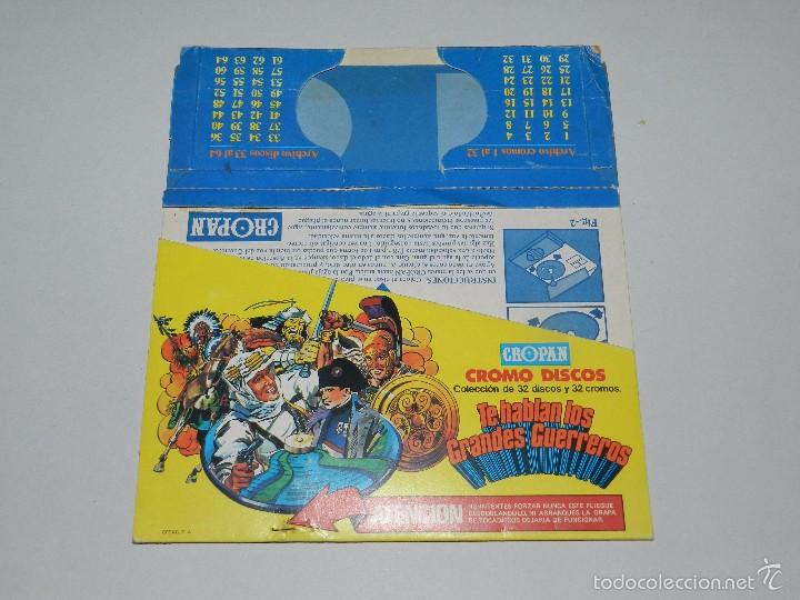 Coleccionismo Álbumes: (M) ALBUM TOCADISCOS CROPAN CROMO DISCOS + 3 DISCOS CROPAN + PUBLICIDAD - Foto 2 - 56369607