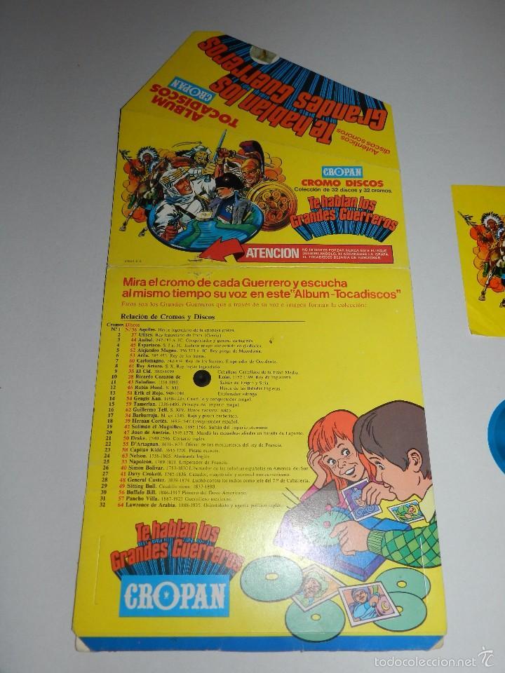Coleccionismo Álbumes: (M) ALBUM TOCADISCOS CROPAN CROMO DISCOS + 3 DISCOS CROPAN + PUBLICIDAD - Foto 3 - 56369607