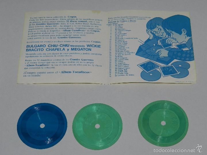 Coleccionismo Álbumes: (M) ALBUM TOCADISCOS CROPAN CROMO DISCOS + 3 DISCOS CROPAN + PUBLICIDAD - Foto 5 - 56369607