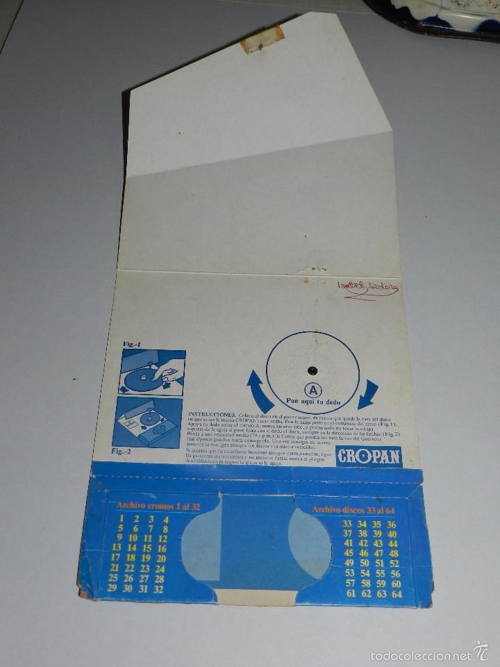 Coleccionismo Álbumes: (M) ALBUM TOCADISCOS CROPAN CROMO DISCOS + 3 DISCOS CROPAN + PUBLICIDAD - Foto 6 - 56369607