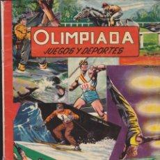 Coleccionismo Álbumes: ALBUM INCOMPLETO OLIMPIADA EDITORIAL RUIZ ROMERO FALTAN 37 CROMOS . Lote 56460259