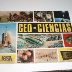 Coleccionismo Álbumes: ALBUM GEO-CIENCIAS KEISA FALTAN SOLO 7 CROMOS. Lote 56472982