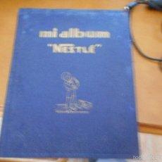 Coleccionismo Álbumes: ALBUM CROMOS MI ALBUM NESTLE CON 200 CROMOS. Lote 56697510
