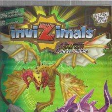 Coleccionismo Álbumes: INVIZIMALS EVOLUTION. Lote 56812402