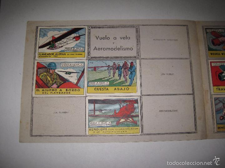 Coleccionismo Álbumes: ALBUM VUELO A VELA TURISMO CARRERAS - INCOMPLETO - CISNE -COMERCIAL GERPLA - VER FOTOS -(V-5678) - Foto 2 - 56966122