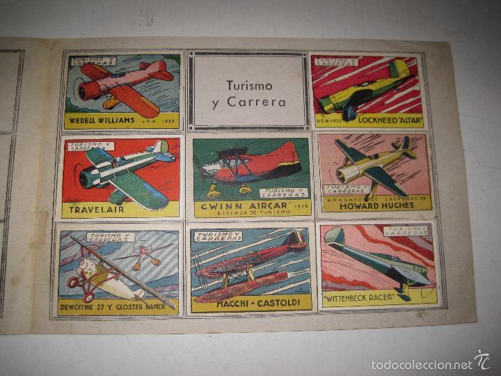 Coleccionismo Álbumes: ALBUM VUELO A VELA TURISMO CARRERAS - INCOMPLETO - CISNE -COMERCIAL GERPLA - VER FOTOS -(V-5678) - Foto 3 - 56966122