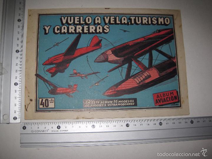 Coleccionismo Álbumes: ALBUM VUELO A VELA TURISMO CARRERAS - INCOMPLETO - CISNE -COMERCIAL GERPLA - VER FOTOS -(V-5678) - Foto 5 - 56966122