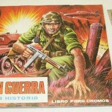 Coleccionismo Álbumes: ALBUM CROMOS EL MUNDO EN GUERRA, MAGA 1979, FALTAN SOLO 4 CROMOS. Lote 57124118