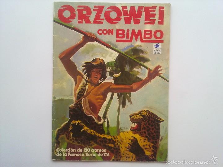 ALBUM ORZOWEI CON BIMBO 1978, ALBUM VACIO (Coleccionismo - Cromos y Álbumes - Álbumes Incompletos)