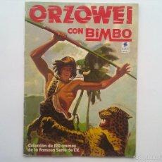 Coleccionismo Álbumes: ALBUM ORZOWEI CON BIMBO 1978, ALBUM VACIO. Lote 57241133