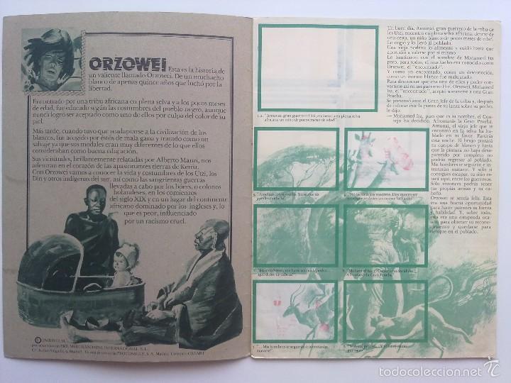 Coleccionismo Álbumes: ALBUM ORZOWEI CON BIMBO 1978, ALBUM VACIO - Foto 2 - 57241133