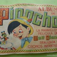 Coleccionismo Álbumes: ALBUM PINOCHO EDICIONES FHER AÑO 1944 - SOLO FALTAN 7 CROMOS -. Lote 57289920