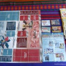Coleccionismo Álbumes: POKÉMON TORMENTA PLASMA NEGRO Y BLANCO TABLERO JUEGO, INSTRUCCIONES, FICHAS, 4 TARJETAS Y 64 CARDS.. Lote 57326609