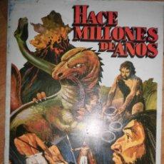 Coleccionismo Álbumes: HACE MILLONES DE AÑOS ALBUM COMPLETO BUENISIMA CONSERVACION. Lote 57592136