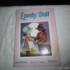 Coleccionismo Álbumes: ALBUM LOVELY DOLL EDANSA.FALTA 65 CROMOS DE 148. Lote 57791082
