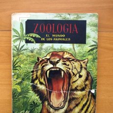Coleccionismo Álbumes: ZOOLOGIA EL MUNDO DE LOS ANIMALES - EDITORIAL FERCA 1961 - FALTAN 4 CROMOS. Lote 58004920