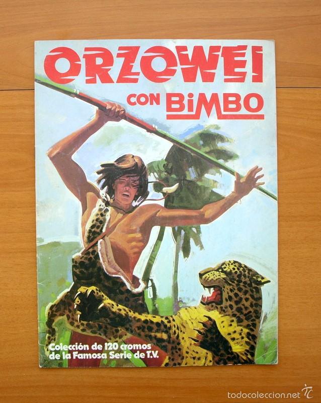ORZOWEI - BIMBO 1978 (Coleccionismo - Cromos y Álbumes - Álbumes Incompletos)