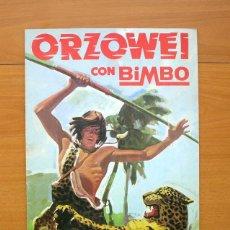 Coleccionismo Álbumes: ORZOWEI - BIMBO 1978. Lote 58559934