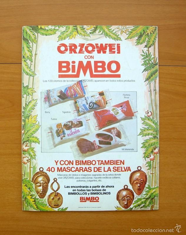 Coleccionismo Álbumes: Orzowei - Bimbo 1978 - Foto 11 - 58559934