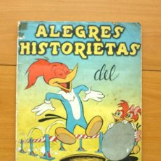 Coleccionismo Álbumes: ALEGRES HISTORIETAS DEL PAJARO LOCO - EDITORIAL FHER 1957 - A FALTA DEL Nº 7. Lote 58011611