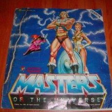 Coleccionismo Álbumes: ALBUM. MASTERS DEL UNIVERSO. LOS AMOS DEL UNIVERSO. DE PANINI. AÑO 1983. CONTIENE 152 CROMOS. Lote 58014258