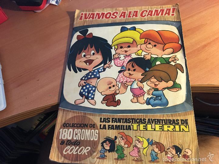 VAMOS A LA CAMA. LA FAMILIA TELERIN CON 161 CROMOS DE 180 CROMOS (BRUGUERA 1965) (ALB-A) (Coleccionismo - Cromos y Álbumes - Álbumes Incompletos)